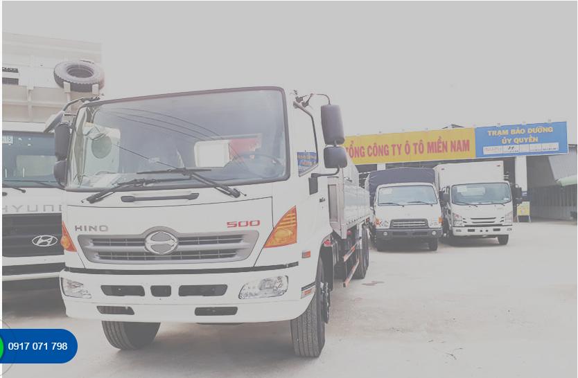 Quy trình 5 bước bảo dưỡng xe tải Hino